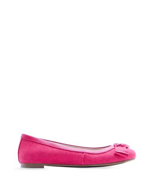 Mango | Pink Bow Ballerina | Lyst