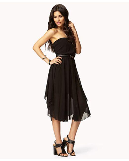 black tube dress forever 21 - photo #20