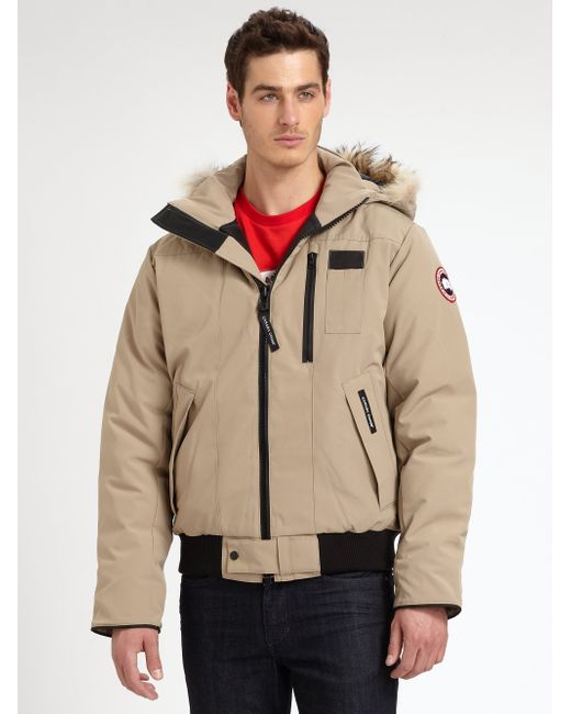 Canada Goose down outlet cheap - Canada goose Borden Fur-trimmed Puffer Jacket in Brown for Men ...