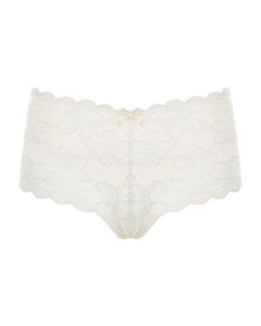 Wacoal | Brown Petite Fleur Bikini Briefs | Lyst