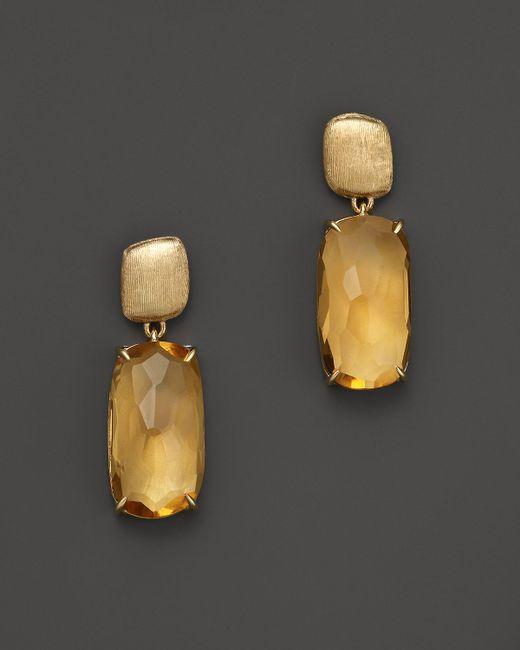 Marco Bicego | Yellow Murano Citrine Earrings | Lyst
