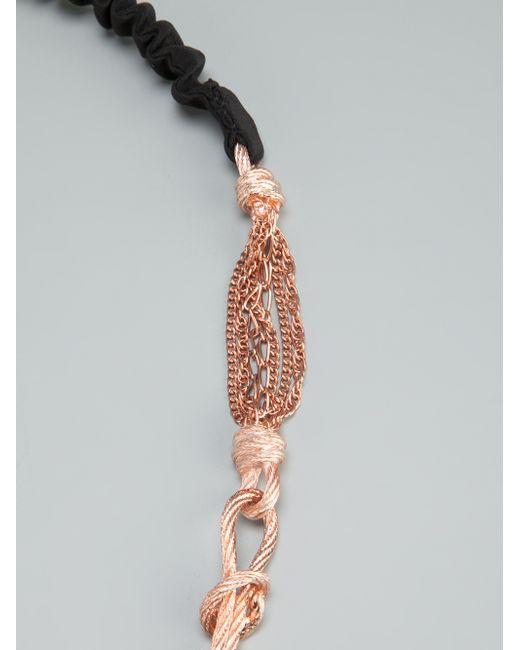 Maison Michel | Pink Angelique Necklace | Lyst