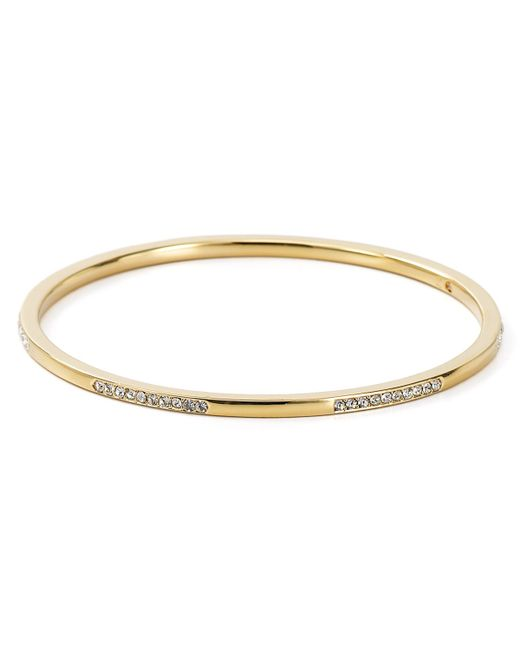 Nadri | Metallic Crystal And Metal Bangle | Lyst