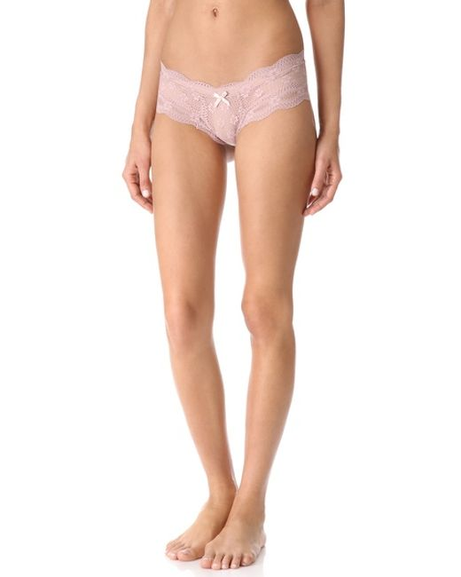 Eberjey | Pink India Lace Low Rise Boy Thong | Lyst