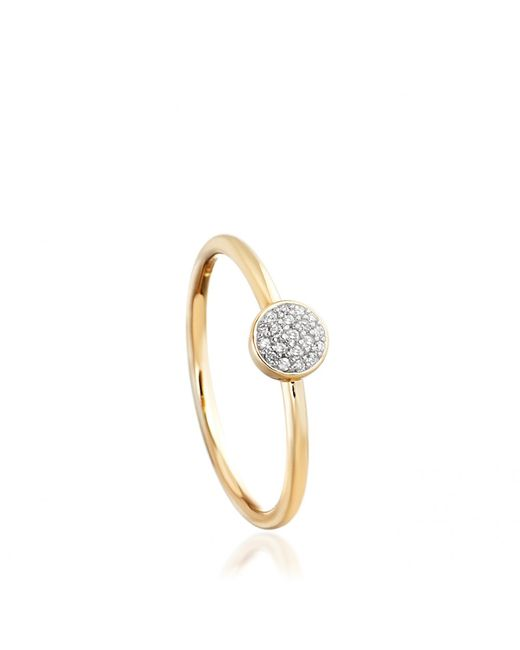 Astley Clarke | Metallic Little Heart Gold Diamond Ring | Lyst