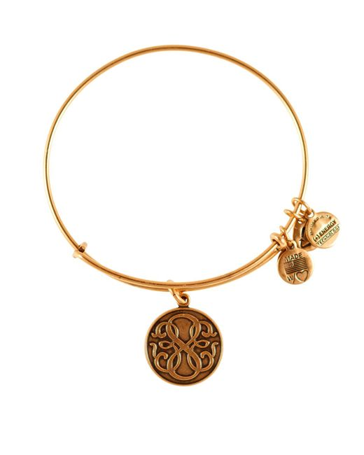 Alex and ani path of life infinity bangle in metallic lyst