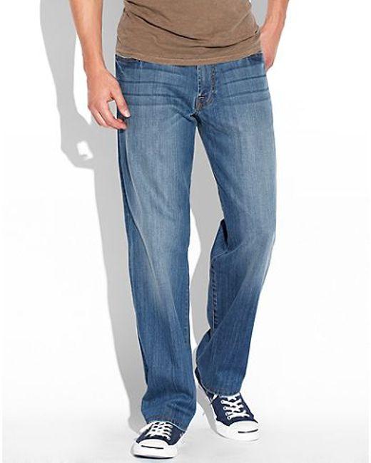 "Lucky Brand | Blue 363 Vintage Straight Leg Jean - 30-34"" Inseam for Men | Lyst"