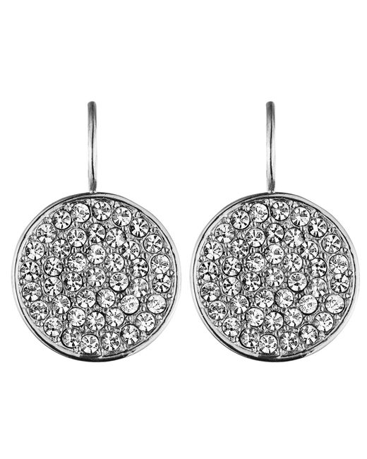 Dyrberg/Kern | Metallic Desria Shiny Silver Earrings | Lyst