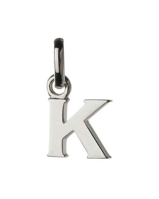 Links of London | Metallic K Charm | Lyst
