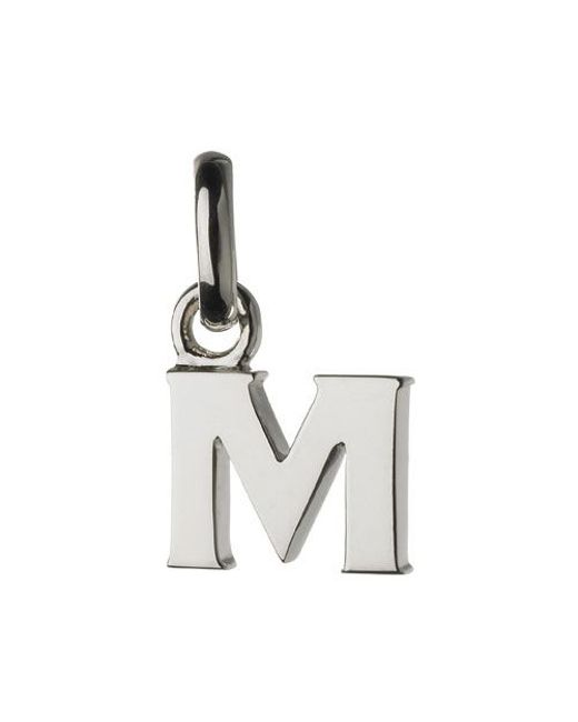 Links of London | Metallic M Charm | Lyst