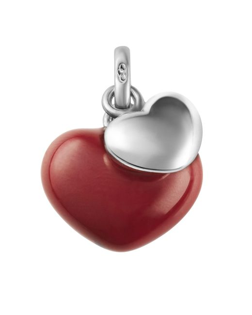 Links of London | Two Hearts Charm Red | Lyst