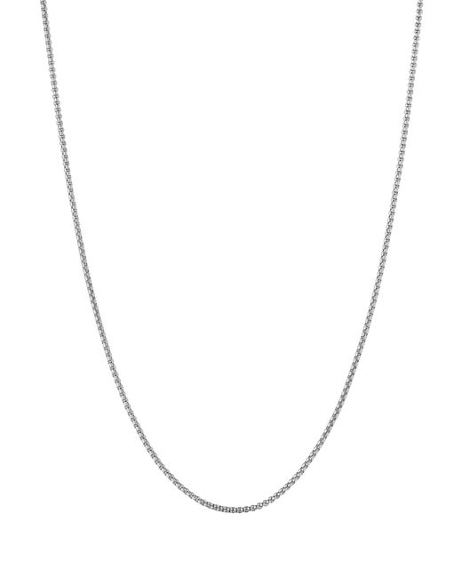 Links of London | Metallic Sterling Silver Chain Necklace, 18"