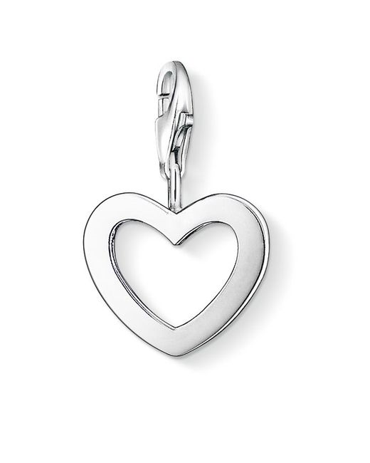 Thomas Sabo | Metallic Charm Club Cut Out Heart | Lyst