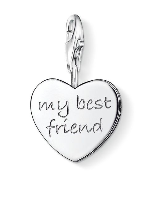 Thomas Sabo | Metallic Charm Club My Best Friend Heart | Lyst