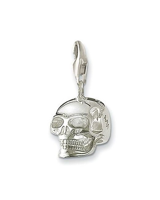 Thomas Sabo | Metallic Charm Club Skull for Men | Lyst