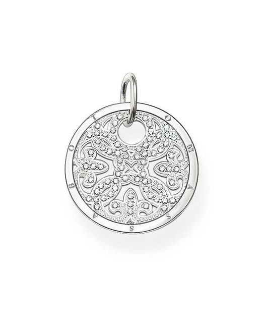 Thomas Sabo | White Special Addition Small Silver Disc | Lyst