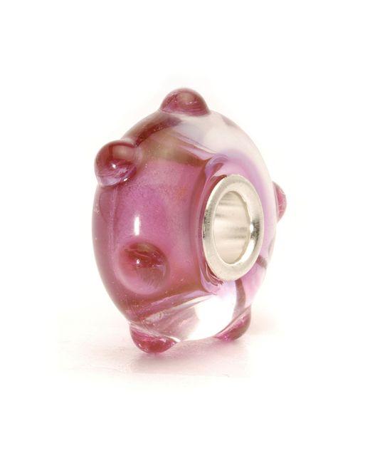 Trollbeads   Pink Bud Glass Bead   Lyst