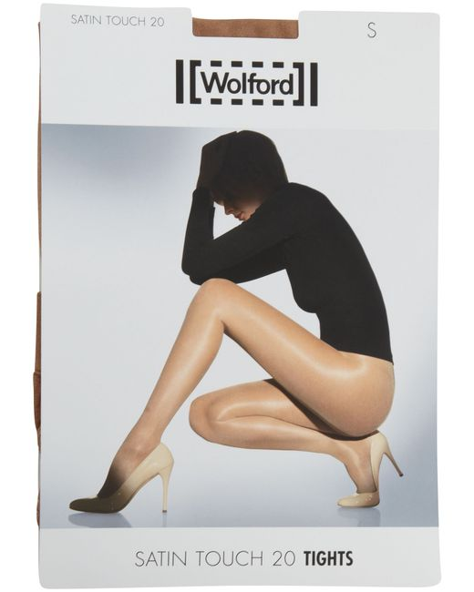 Wolford | Natural Satin Touch 20 Denier Tights | Lyst
