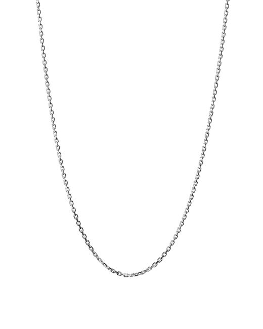 Links of London | Metallic Cable Chain Dc 1.2mm 45cms | Lyst