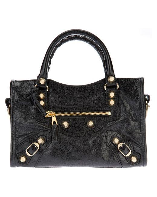 Balenciaga | Black Classic City Leather Tote | Lyst