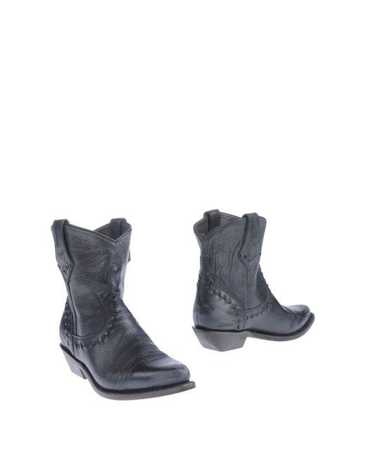Ash | Black Ankle Boots | Lyst