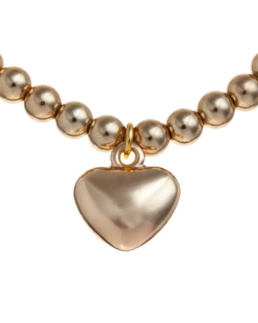 John Lewis   Metallic Georgie Bead Heart Bracelet   Lyst