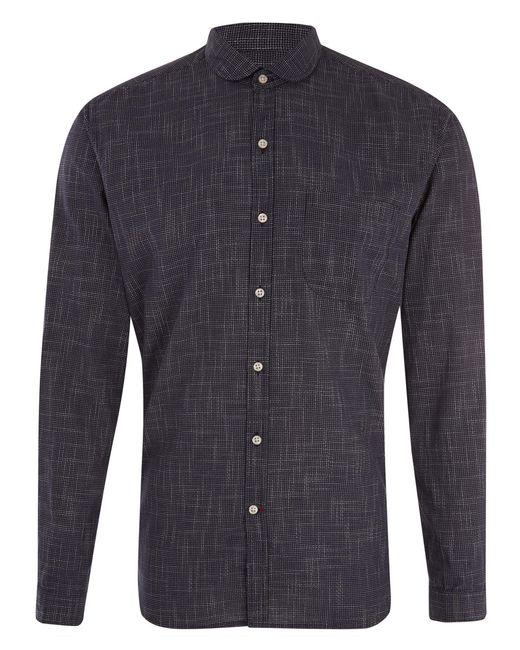 Oliver Spencer   Blue Clerkenwell Tab Picton Navy Shirt for Men   Lyst