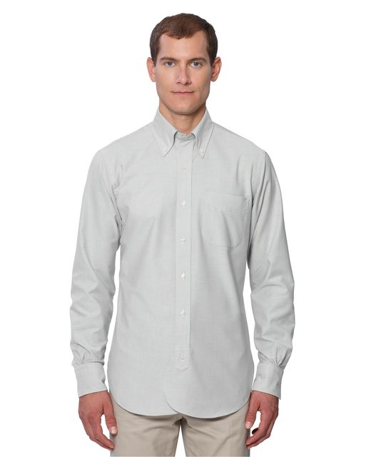 Brooks brothers black fleece oxford button down shirt with for Black oxford button down shirt