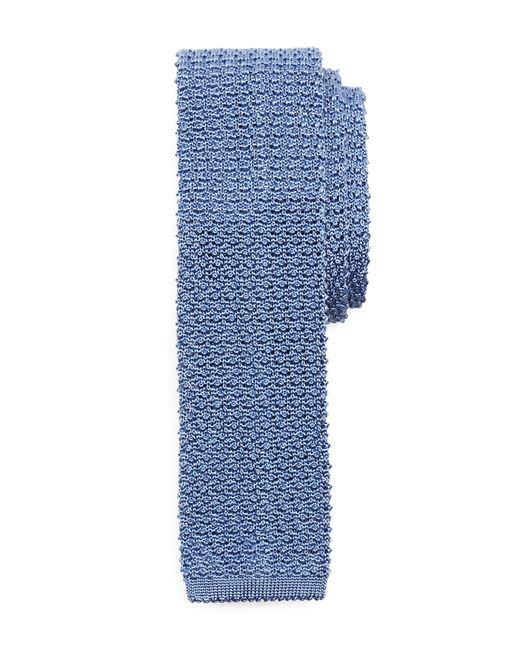 Brooks Brothers | Blue Melange Knit Tie for Men | Lyst