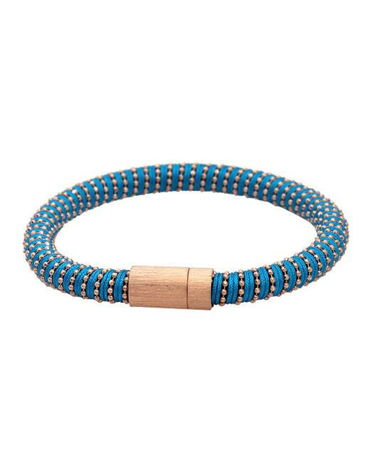 Carolina Bucci | Black Rose Gold Twister Bracelet | Lyst
