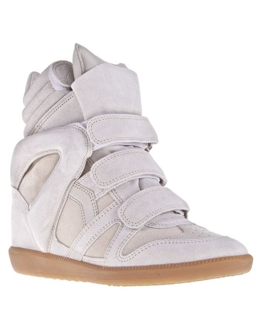 Étoile Isabel Marant | Gray High-tops & Trainers | Lyst