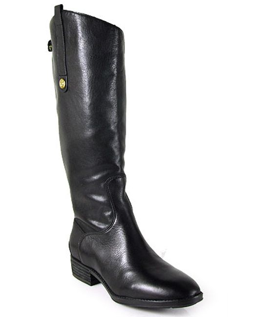 Sam Edelman | Black Sable Suede Knee Boots | Lyst