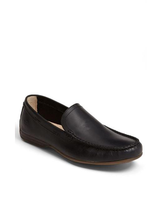 Frye | Black 'lewis' Venetian Loafer for Men | Lyst