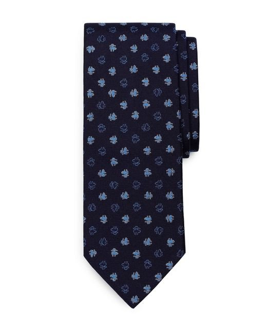 Brooks Brothers | Blue Palm Tree Slim Tie for Men | Lyst