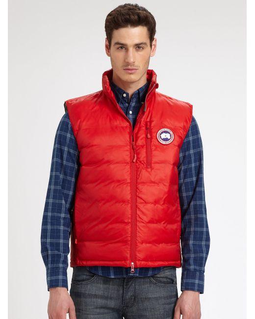 Canada Goose | Red Lodge Vest for Men | Lyst