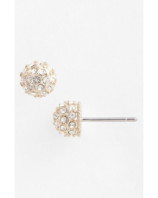 Judith Jack | Metallic Stud Earrings | Lyst