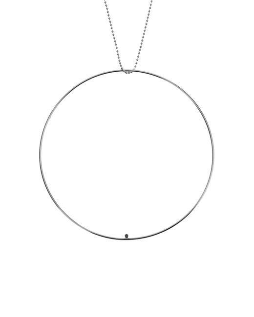 CK Calvin Klein | Metallic Necklace | Lyst