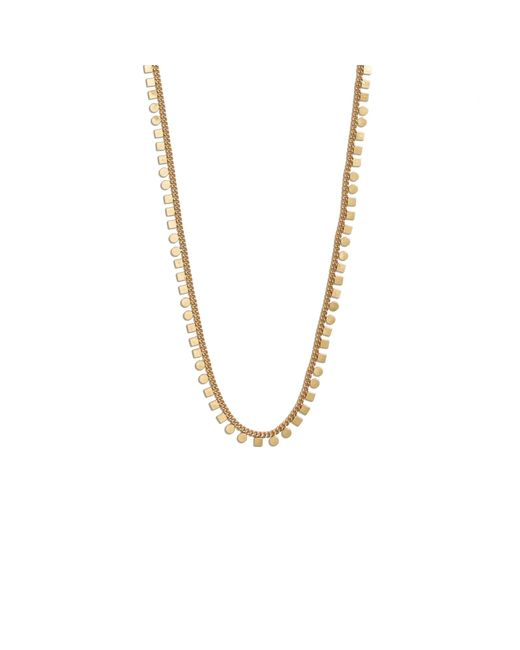 Madewell | Metallic Mini Geochain Necklace | Lyst