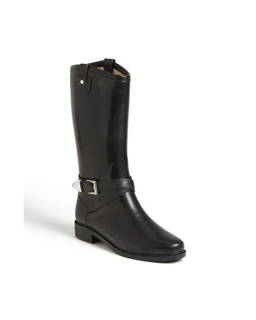 Chooka | Black 'top Solid' Rain Boot | Lyst