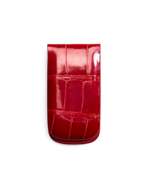 Brooks Brothers | Red Alligator Money Clip for Men | Lyst