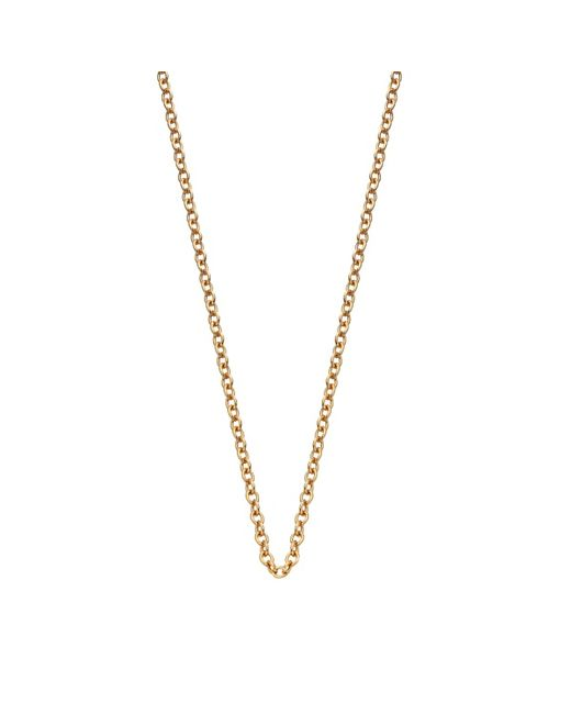 Monica Vinader   Metallic 18ct Yellow Gold-plated Vermeil Fine Chain   Lyst