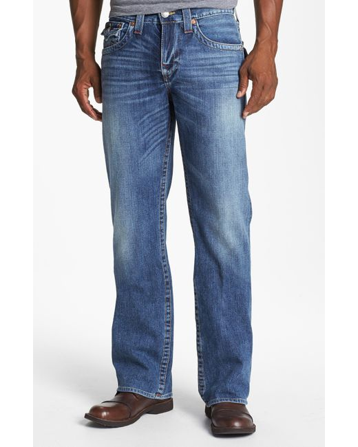 True Religion | Black Ricky Rough River Jeans for Men | Lyst
