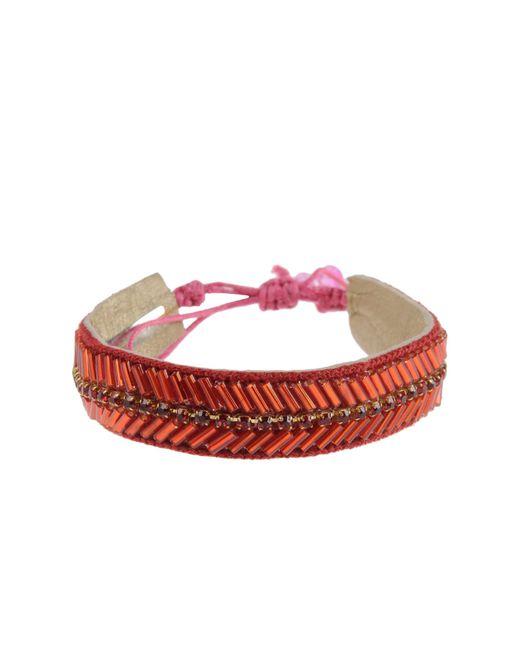 Deepa Gurnani   Red Bracelet   Lyst