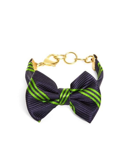 Brooks Brothers | Blue Bow Tie Bracelet By Kiel James Patrick | Lyst
