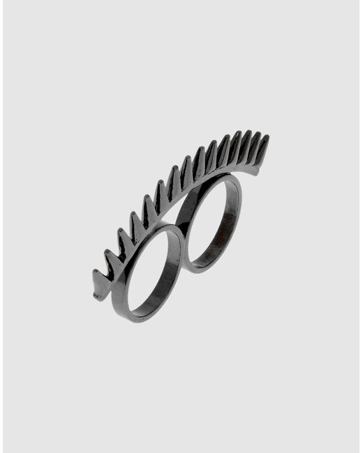Fallon | Gray Ring | Lyst