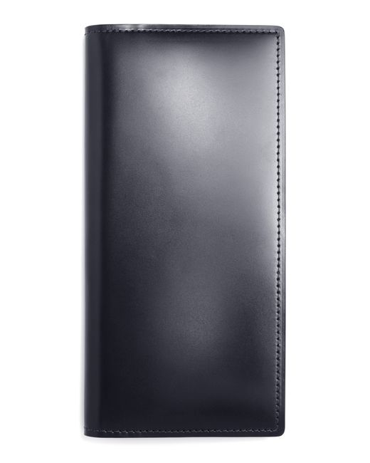 Brooks Brothers | Black Cordovan Long Wallet for Men | Lyst