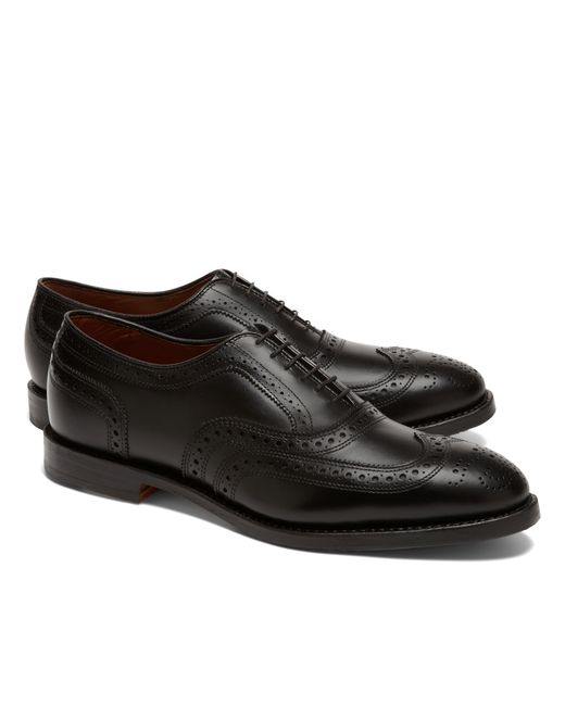 Brooks Brothers | Black Peal & Co.® Straight Captoe Bluchers for Men | Lyst