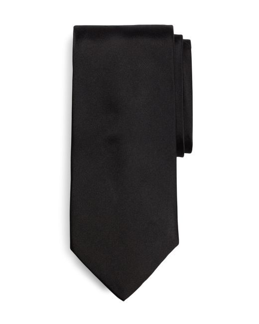 Brooks Brothers | Black Tuxedo Necktie for Men | Lyst