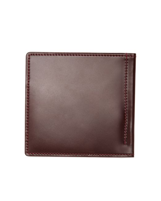 Brooks Brothers | Brown Cordovan Wallet With Money Clip for Men | Lyst