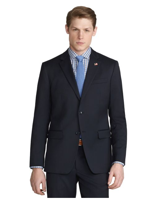 Brooks Brothers | Black Milano Fit Solid 1818 Suit for Men | Lyst